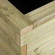 Close up of timber
