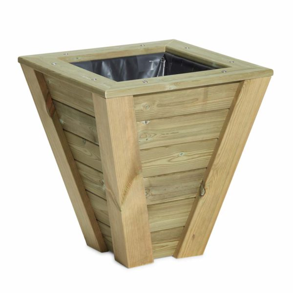Quality wooden planter for topiary