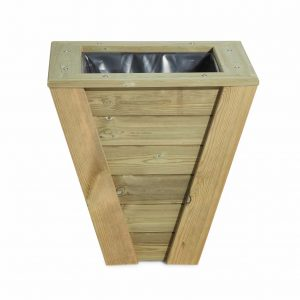Garden planter made from quality wood