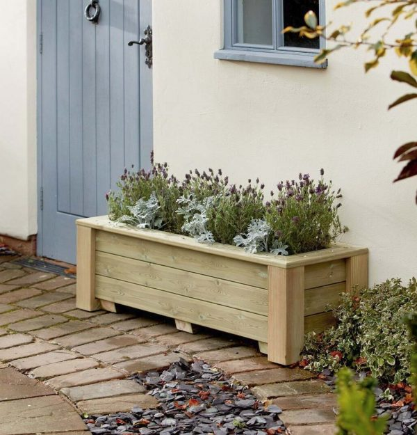 Bespoke outdoor planter made from quality wood