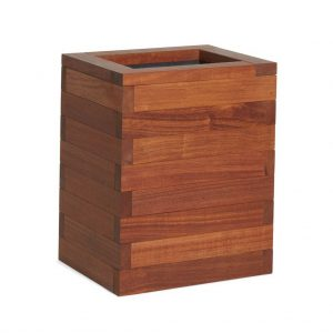 Tall Iroko planter