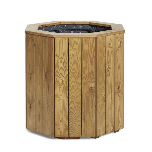 Custom made wooden planter