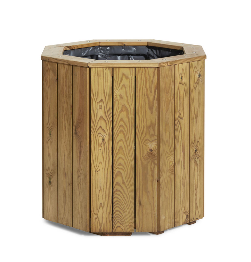 Made To Measure Bespoke Wooden Planters: Plympton Wooden Planter