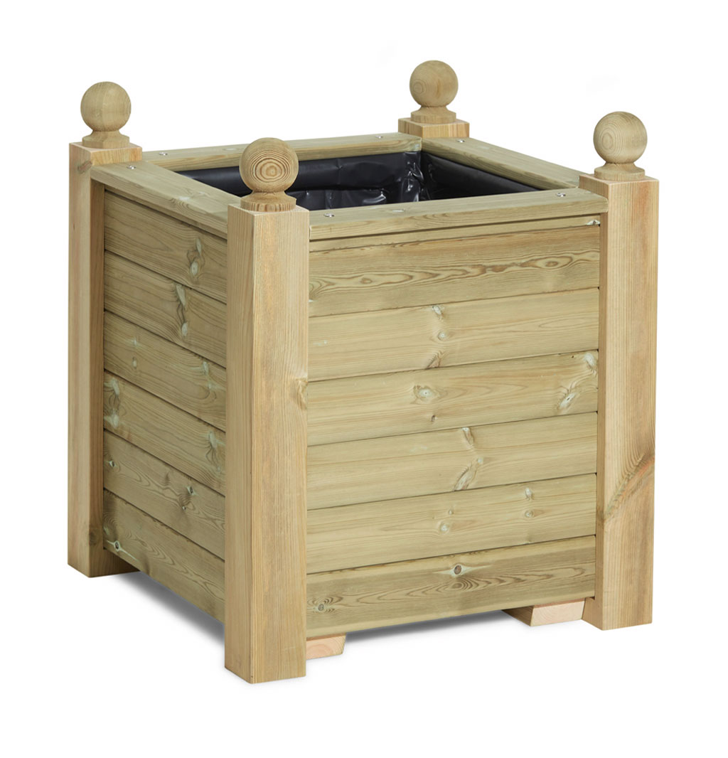 Image of: Regency Planter Extra Large Wooden Planters Taylor Made