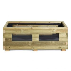 vegetable wooden planter