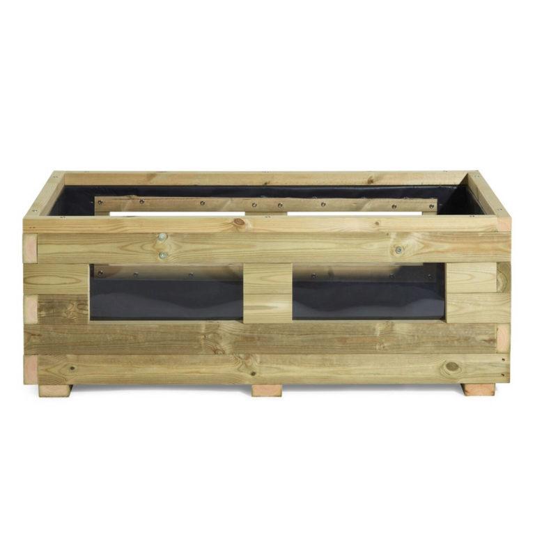 vegetable wooden planter