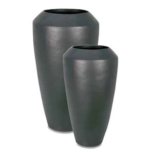 Vase shape ceramic planter