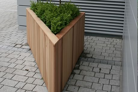 Custom Wooden Planter By Taylor Made ...