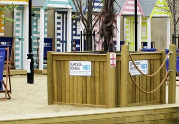 Large planter box for Quayside Seaside NE1
