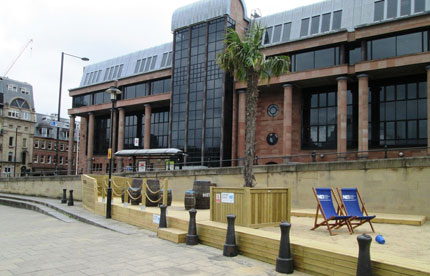 Taylor Made Planters worked on the seaside project in NE1