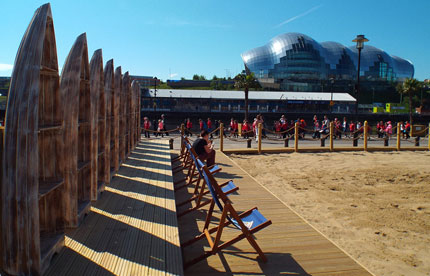 Sand at the Quayside Seaside