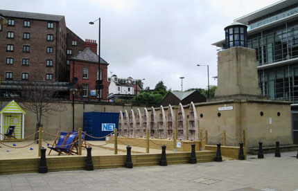 The Quayside Seaside project