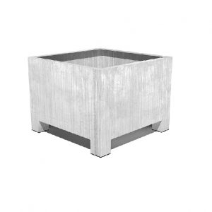 Square Steel Planter for External Use