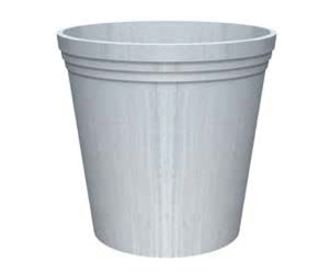 Round Galvanised Steel Planter