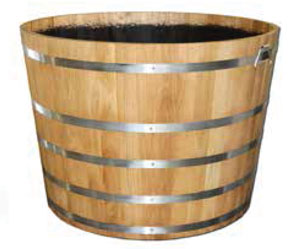 Large Oak Tub