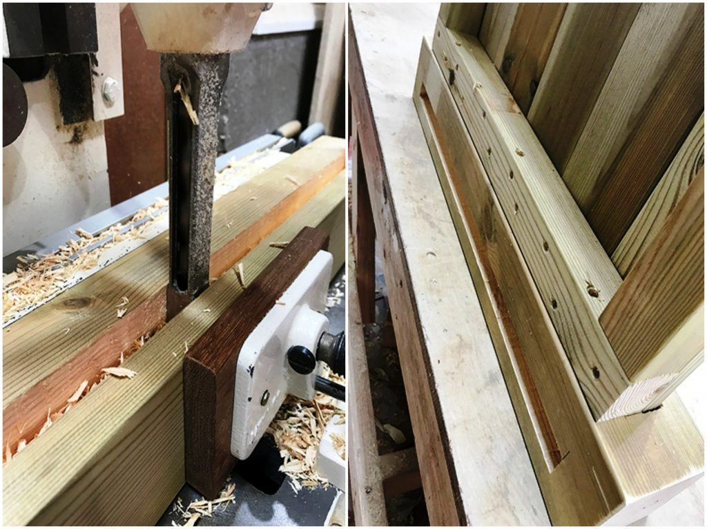 Steps to building a wooden planter
