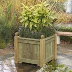 Versailles Planter crafted in Accoya Wood