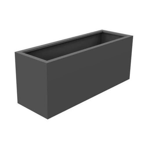 Outdoor trough made from strong Aluminium