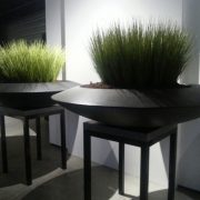 Contemporary Fiberglass planter