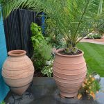 Terracotta tree planter