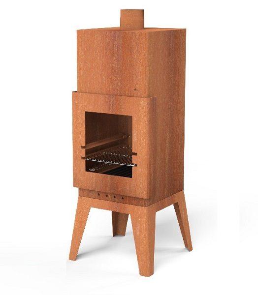 Bardi grill and wood burner