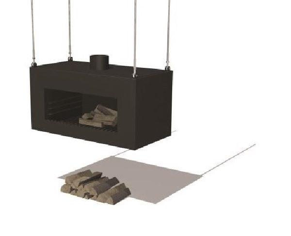 Enok wood burner that can be hung up