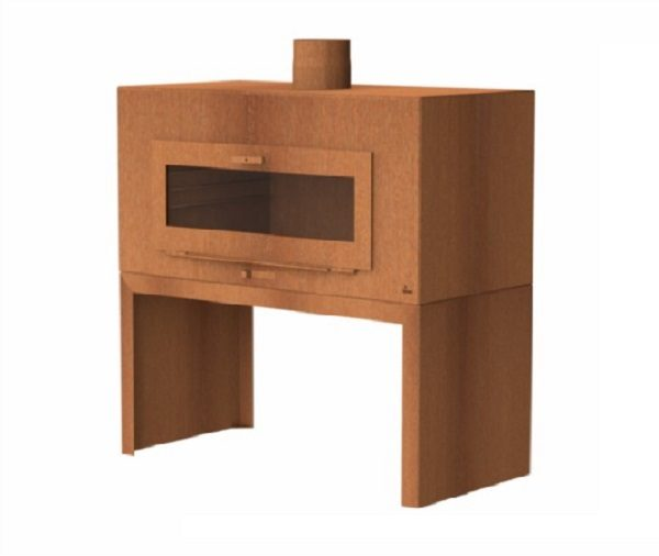 Enok wood burner with door feature