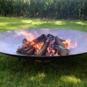 Extra large fire bowl for outdoors