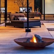 Small fire bowl for garden