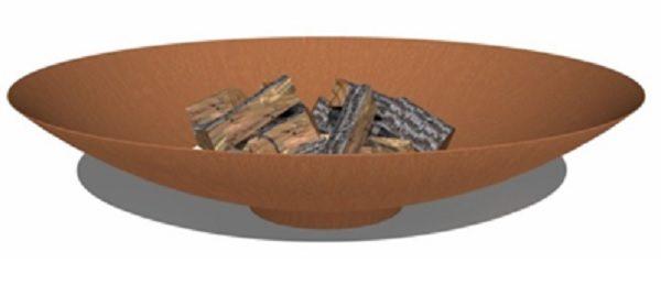 Outdoor fire bowl