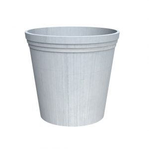 Tapered planter made from Galvanised Steel