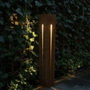 Tall outdoor light