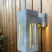 Wall lighting for your garden