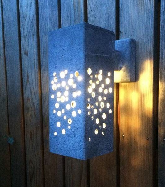 LED garden lights for the wall