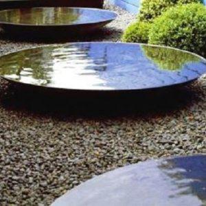 Modern water bowls