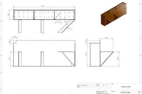 Design brief for bespoke Corten Steel products