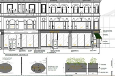 Project plan for The Ivy in Leeds