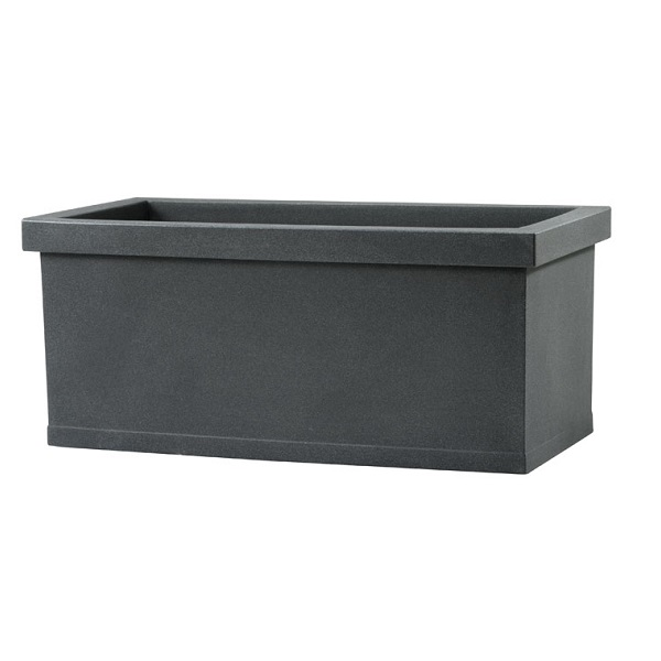Large Plastic Trough in Grey