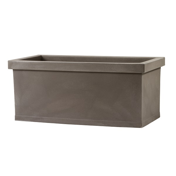 Large Plastic Trough in Cappuccino colour