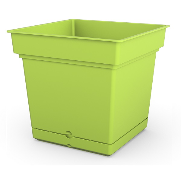 Green Composite Planter with water reservoir