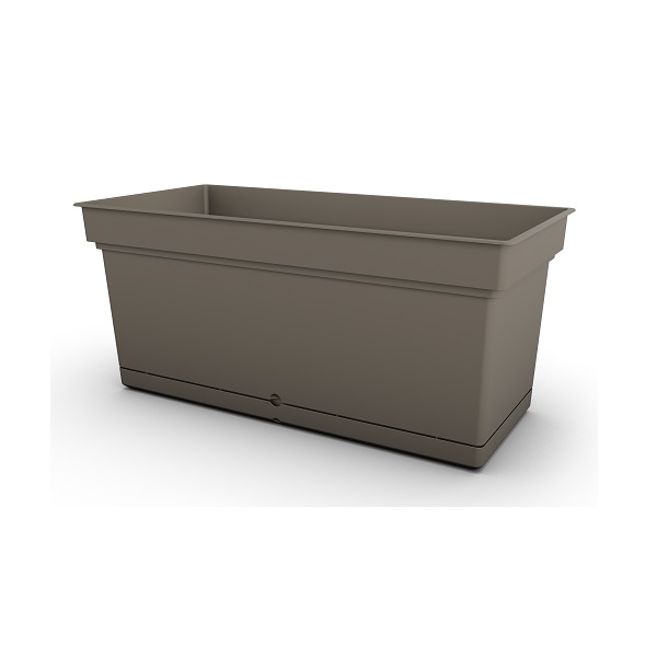 Brown Aqua Trough Planter