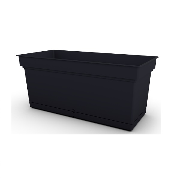 Black Aqua Trough Planter