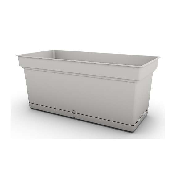 White Aqua Trough Planter