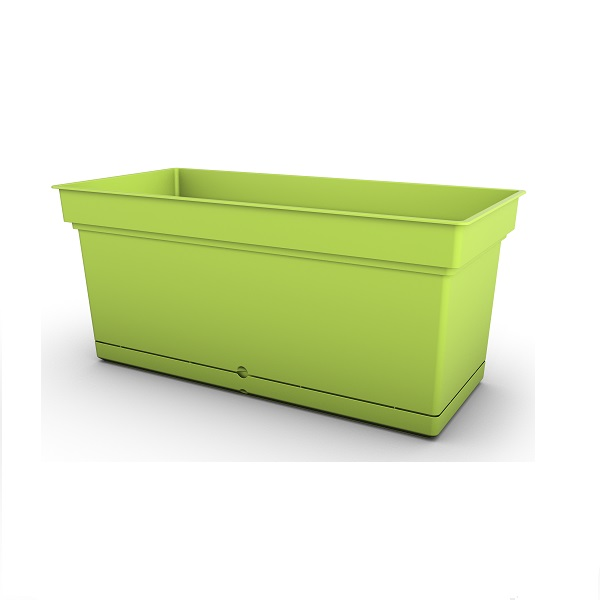 Composite Aqua trough in green
