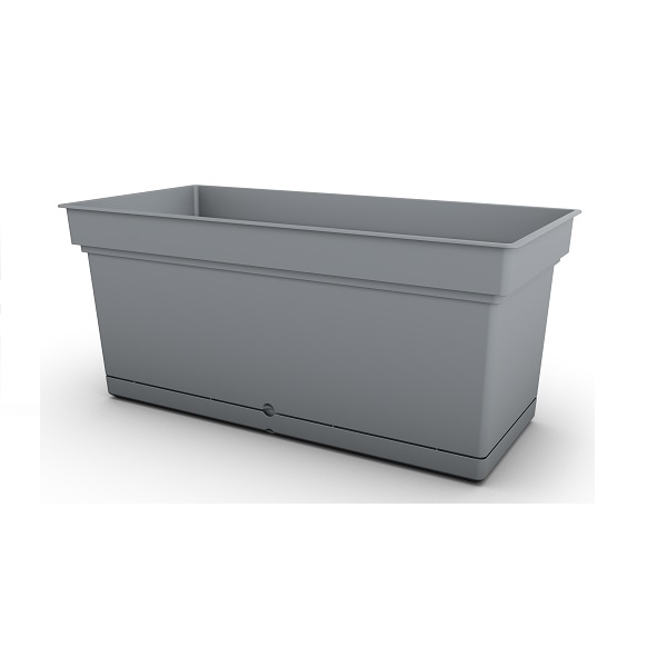 Grey Aqua Trough Planter