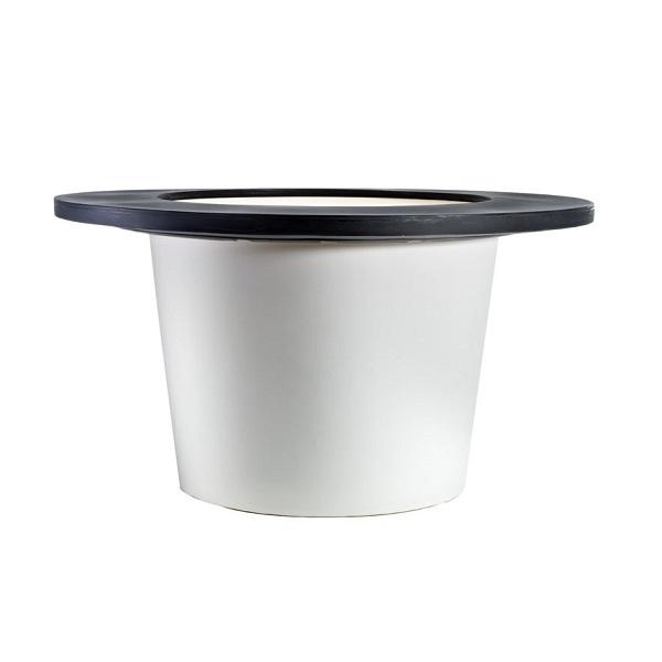 Large composite LED planter