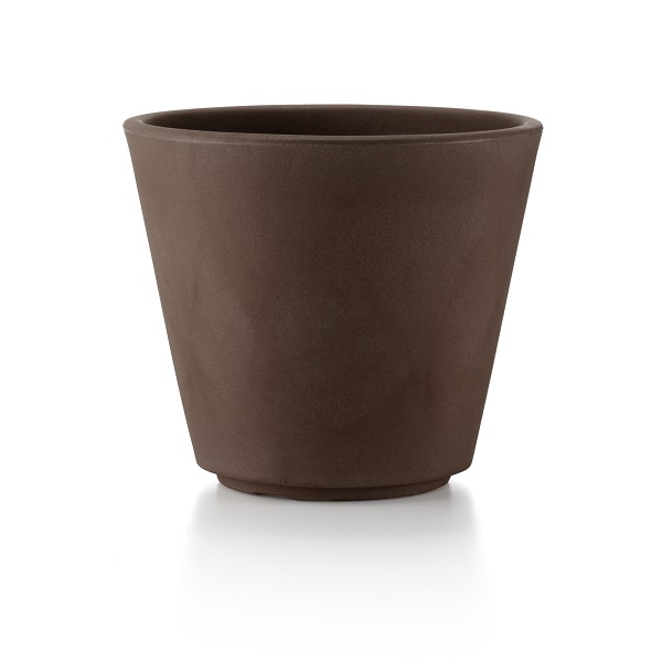 Brown Plastic Plant Pot