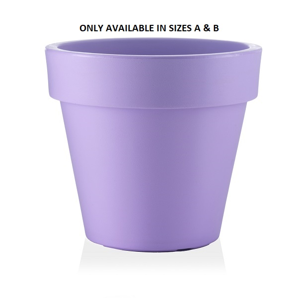 Standard One Plant Pot in Purple