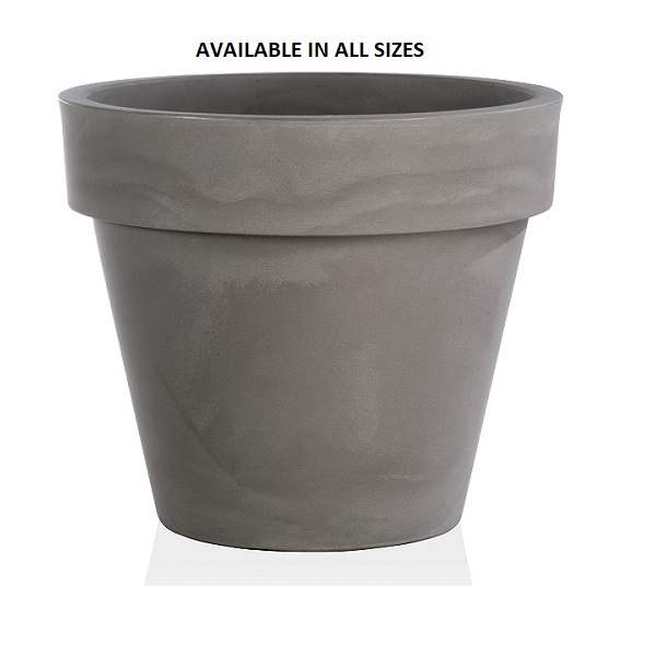 Standard One Grey Plant Pot