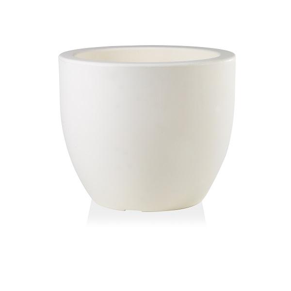 Veneto Large Bowl Planter in White
